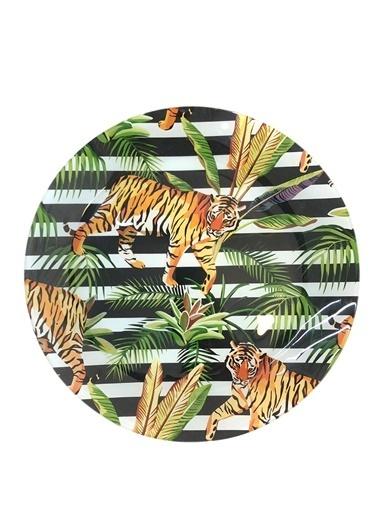 Lucky Art Jungle 6'Lı Supla Tabak 31Cm Renkli